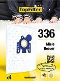 TopFilter 336, 4 sacs aspirateur pour Miele, Hoover, boîte de sacs d'aspiration en...