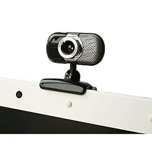 Kinobo B7 webcam - webcams (USB, Black, Stainless steel, Clip/Stand)