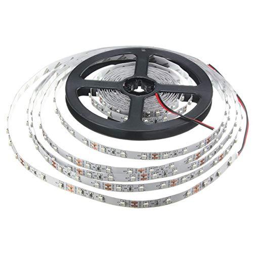 LED-Licht IP20 300led 5M SMD 3528 RGB LED-Streifen-flexibles Dioden-Band 12V LED Band-Ledstrip für Hauptdekoration führte helle Nacht Licht (Farbe : Red)