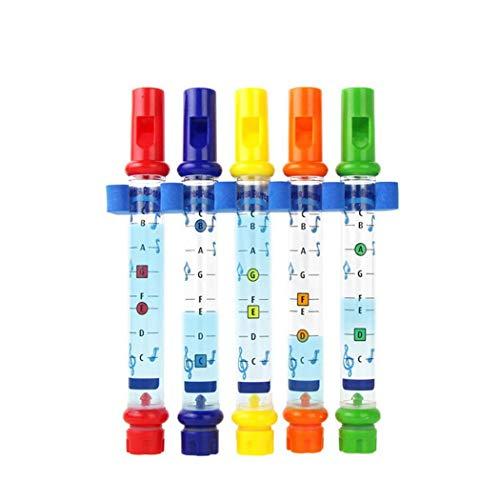 Zuionk Kinder Print Flöte Wasser Spielzeug Spaß Musik Bad Dusche Spielzeug Badewannenspielzeug