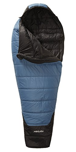Nordisk Canute -2° Sleeping Bag M real teal/black 2016 Mumienschlafsack - 2
