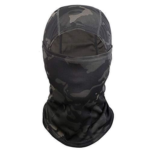 Yongbest Sturmhaube,Balaclava Skimaske Winddicht Kapuze Kopfbedeckung Gesichtshaube Motorradmaske für Männer Frauen Outdoorsport Jagd Radfahren Motorradfahren Ski