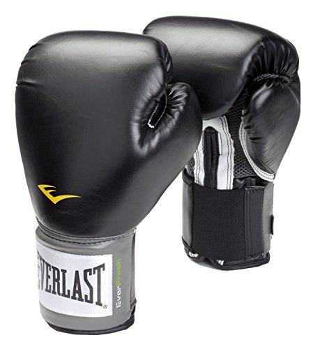 Everlast adultos Caja Artículo 2100Velcro Pro Style Entrenamiento Gloves, hombre, color negro, tamaño 227 g