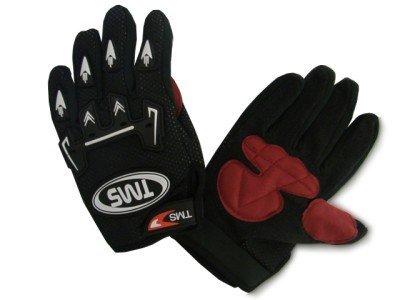 TMS® Youth Kid Motocross ATV Dirt Bike Offroad Handschuhe schwarz