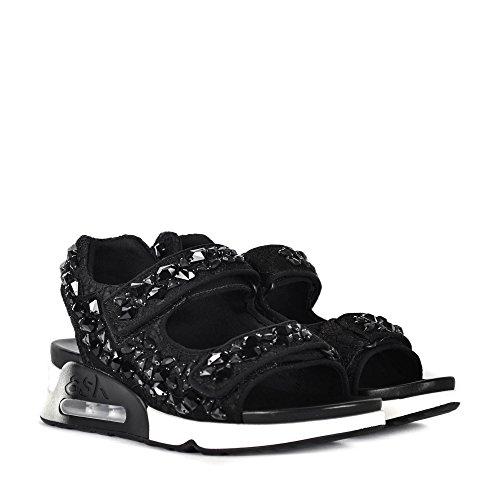 Ash Chaussures Chaussures Lullastones Sneaker Black Woman Black