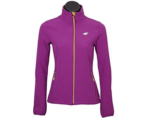 Giacca softshell da donna giacca da allenamento giacca * Colori assortiti * Violet S