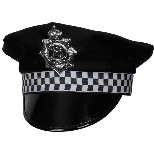 lizei Offizier Polizist Schirmmütze Herren Kostüm Zubehör ()