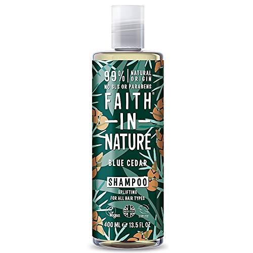 Faith in Nature - For Men - Blue Cedar Shampoo - 400ml (Case of 6)