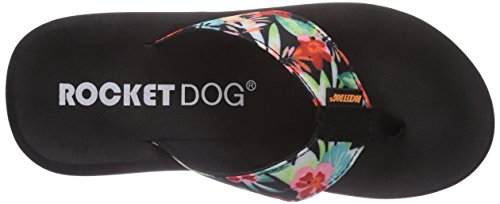 Rocket Dog , Tongs Femme Multicolore (Hawaii Dreams)