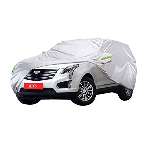 Cadillac XT5 Autoabdeckung Motorhaube Oxford Material Verschleißfest Zugfestigkeit Nicht Schlecht Vier Jahreszeiten Langlebig Langlauf Spezielles Verdickung Oxford Tuch Sonnenschutz Regenschutz