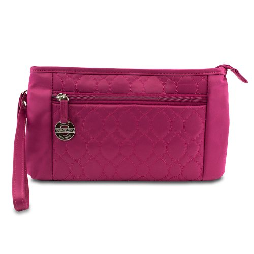 travelon-convertible-quilted-crossbody-wristlet-waist-pouch-berry
