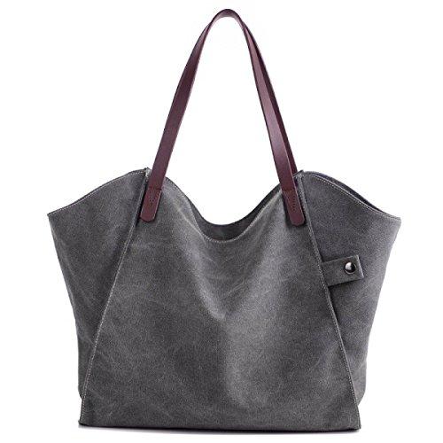 NBAG Frauen Tasche Große Kapazität Mode Big Bag Handtasche Umhängetasche Lässig Umhängetasche Shopping Einkaufstasche