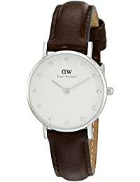Daniel Wellington Classic Bristol Damen-Armbanduhr Analog Quarz Leder - DW00100070