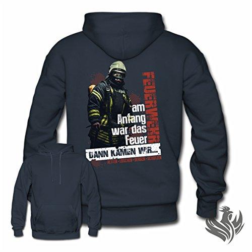 Feuerwehr l Hoodie Kapuzenpullover Pullover l