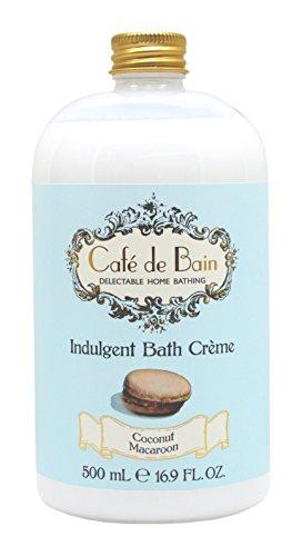 Cafe de Bain Indulgent Bath Creme 500 ml, Coconut Macaroon by Cafe de Bain -