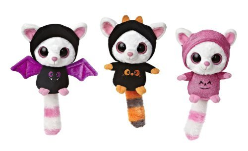 aurora-halloween-bat-and-ghosts-pammee-scary-sweet-yoo-hoo-5-set-of-3-friends-by-yoohoo-friends