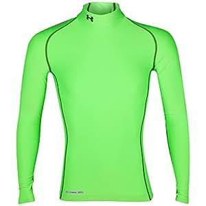 Under Armour CG Compression Evo Mock Men's T-Shirt green (389) grün (389) Size:S (SM)