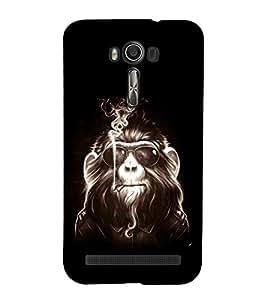 printtech Cool Monkey Glasses Smoke Back Case Cover for Asus Zenfone Go::Asus Zenfone Go ZC500TG