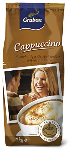 Grubon Cappuccino 1 kg - 10 x 1.000 g