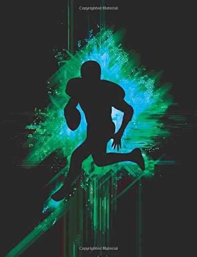Journal: Cool Football Player's Notebook por NoteToSelf Sports Journals