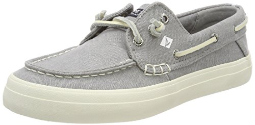Sperry Damen Crest Resort Washed Can. Grey Segelschuhe, Grau (Grey), 42 EU - Resort-fashion