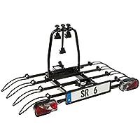 Bullwing - Porte-vélos attelage 4 vélos fixation rapide SR6