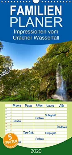 Impressionen vom Uracher Wasserfallsteig - Familienplaner hoch (Wandkalender 2020 , 21 cm x 45 cm, hoch): Zauberhafte Landschaftsaufnahmen entführen ... (Monatskalender, 14 Seiten ) (CALVENDO Natur)