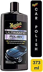 Meguiar's Ultimate Car Polish 473 ml, G19216, H8.85 x W3.613 x D1.816 in