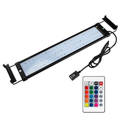 NICREW Rampe LED Aquarium, Éclairage LED pour Aquarium...