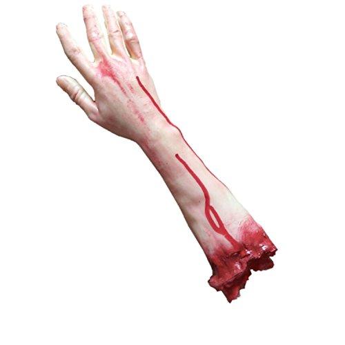 Franchen Horror Blutige Gebrochene Hand Arm Streich Veräppeln Halloween Partei Requisiten (Halloween Haunted House Requisiten)