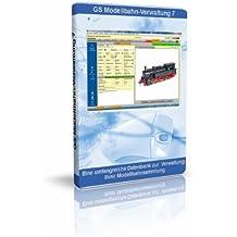 GS Modellbahn-Verwaltung 7 - Software zur Verwaltung Ihrer Modellbahnsammlung - Datenbank Programm zur Verwaltung von Modellbahnen