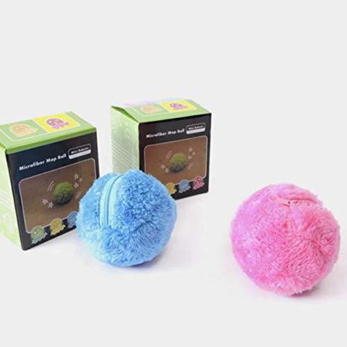 Pallina Magnetica Per Pulizie.Lzndeal Polvere Automatico Palla A Rotelle Elettrica