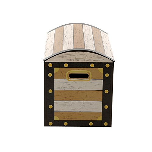 H3 Baby W271 - Banco baúl infantil diseño de piratas