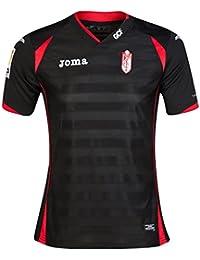 Granada Away Shirt Black Red 14/15 Granada FC Joma