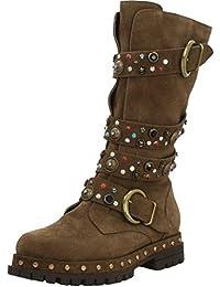 Botas para Mujer, Color marrón, Marca ALMA EN PENA, Modelo Botas para Mujer