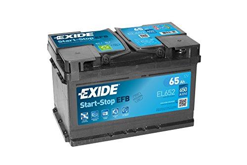 Exide batteria auto start stop, EFB 65ah EL652