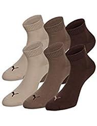 6 Paar Puma Quarters Socken, Kurzsocken, Sportsocken, (mt) 251015