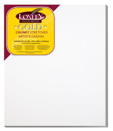 Loxley Gold LCC-2420 - Lienzo preestirado, Color Blanco