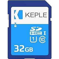 Keple 32GB 32Go SD Memoire Carte de High Speed SD SDcarte Compatible avec Sony Cyber Shot DSC-HX400V, DSC-HX400V, DSC-H300, DSC-H400 DSLR Camera   32 GB Go G Storage Classe 10 UHS-1 U1 SDHC Card