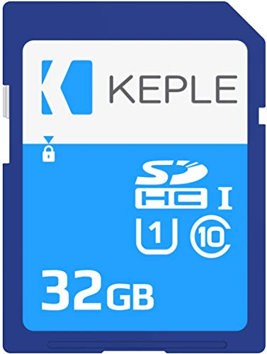 Keple 32GB SD Speicherkarte High Speed SD Speicher Karte Kompatibel mit Fujifilm X30, X100T, Finepix S9900W, S9800, XP80, XQ2, X-T10, Xa2, X-T1 DSLR Digital Camera | 32 GB UHS-1 U1 SDHC Card