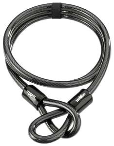 Citadel CL 12.180 Câble antivol à boucles Noir 180 cm