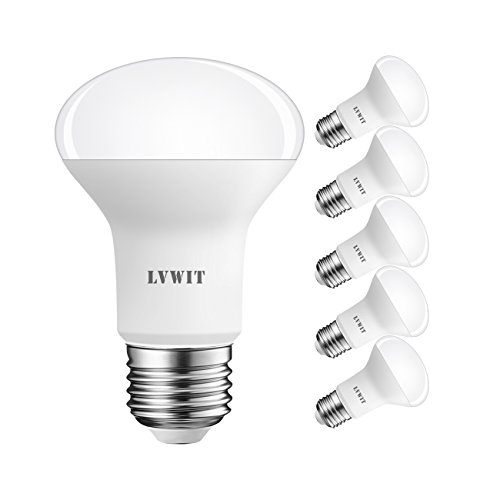 LVWIT LED Reflektor E27 R63, 806 lm, Warmweiß 2700K, 8.5W ersetzt 60W Glühbirne, matt (6er Pack) -