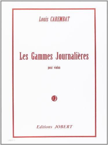 Gammes Journalières pour violon
