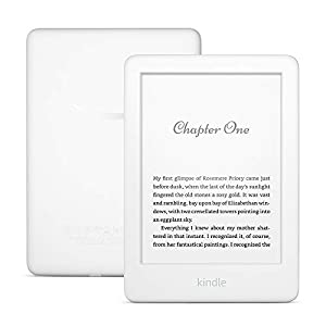 All-new Kindle | Now with a built-in front light—with Special Offers—White