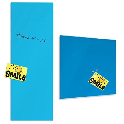 tableau-en-verre-master-of-boardsr-en-turquoise-2-tailles-verre-de-securite-magnetique-fixation-mura