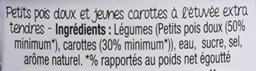 d'aucy Petits Pois Extra Tendres/Jeunes Carottes 400 g