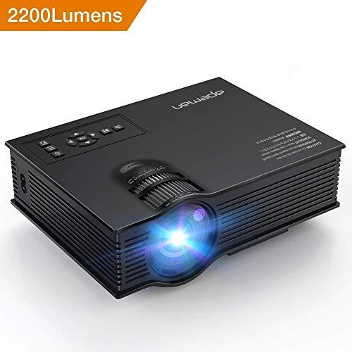 [Version Améliorée] VidéoProjecteur Multimédia APEMAN Mini...