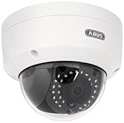 Abus TVIP41560 WLAN HD 720p Außen Dome Kamera, 7 W, Weiß
