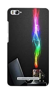 CimaCase Lighter Flames Designer 3D Printed Case Cover For Xiaomi Mi4i