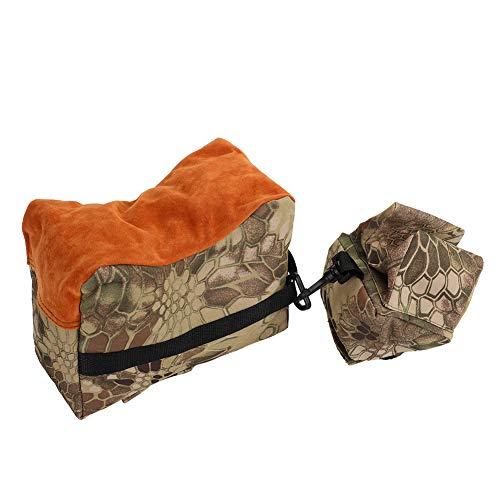 OKBY Shooting Bag - Ungefüllte Tragbare Schießen, Vorne Hinten Bank Rest Taschen, Set Gewehr Ziel Stehen für die Jagd (Color : Python Mud Color) -